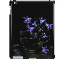 Bluebells - lightpainted still life iPad Case/Skin