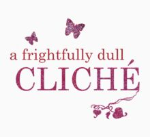 A Frightfully Dull Cliché (ivyblossom) Kids Tee