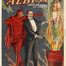 The Incomparable Albini Magician Poster by Jeff East
