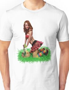 Easter Pin Up Unisex T-Shirt
