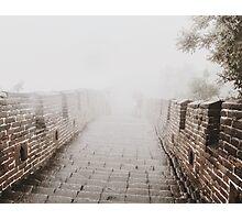 Badaling, Great Wall of China  Photographic Print