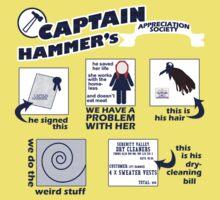 Captain Hammer's Appreciation Society Kids Clothes