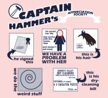 Captain Hammer's Appreciation Society One Piece - Long Sleeve