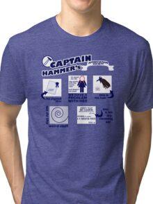 Captain Hammer's Appreciation Society Tri-blend T-Shirt