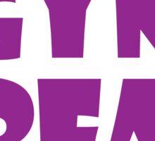Gym Freak (Purple) Sticker