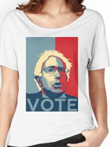 Bernie Sanders - Vote (Off White) Women's Relaxed Fit T-Shirt