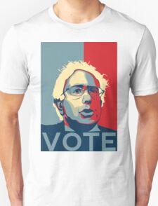 Bernie Sanders - Vote (Off White) T-Shirt