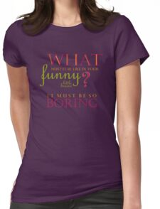 Funny Little Brains Womens Fitted T-Shirt