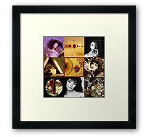 Kate Bush Album Compilation Framed Print