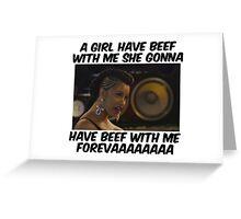 Cardi B. Greeting Card