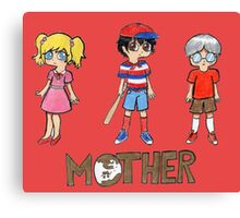 Mother Trio  Canvas Print