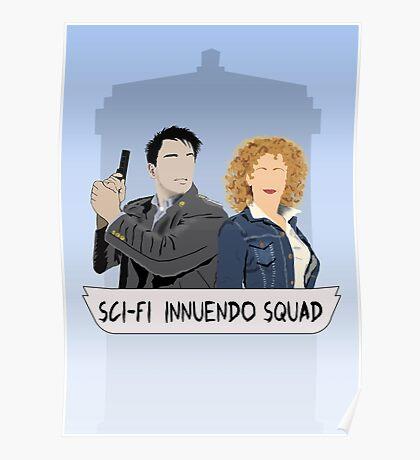 Sci-fi Innuendo Squad Poster