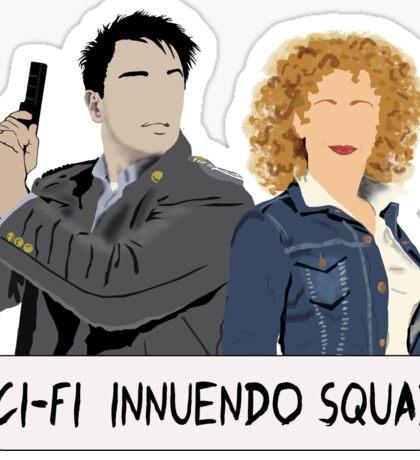 Sci-fi Innuendo Squad Sticker