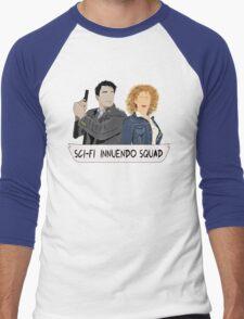 Sci-fi Innuendo Squad Men's Baseball ¾ T-Shirt