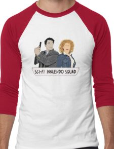 Sci-fi Innuendo Squad Men's Baseball ¾ T-Shirt