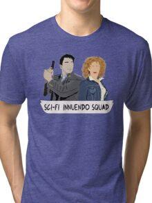 Sci-fi Innuendo Squad Tri-blend T-Shirt