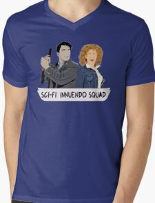 Sci-fi Innuendo Squad Mens V-Neck T-Shirt