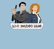 Sci-fi Innuendo Squad Womens Fitted T-Shirt