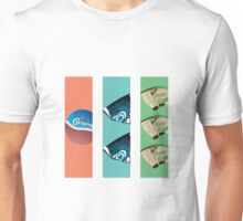 Three Flavours Cornetto Trilogy Unisex T-Shirt