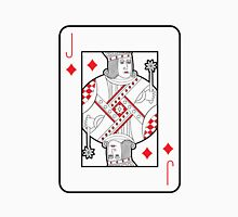 Single playing cards vector: Jack of Hearts Unisex T-Shirt
