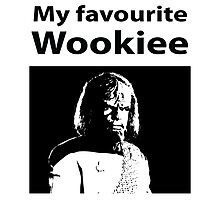 My favourite Wookiee Photographic Print