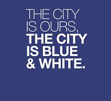 The City is Blue & White Unisex T-Shirt