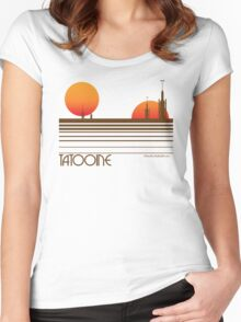 Visit Tatooine Women's Fitted Scoop T-Shirt