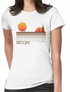 Visit Tatooine Womens Fitted T-Shirt