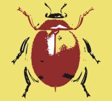 Sketch Bug - Lady Bird Baby Tee