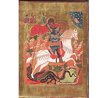 Saint George and the Dragon Photographic Print