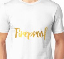 Fireproof One Direction Song Unisex T-Shirt