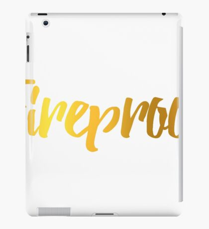 Fireproof One Direction Song iPad Case/Skin