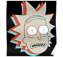 Rick and Morty: 3D Rick Poster