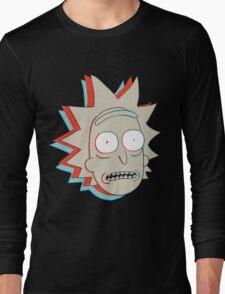 Rick and Morty: 3D Rick Long Sleeve T-Shirt
