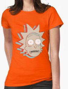 Rick and Morty: 3D Rick Womens Fitted T-Shirt