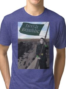 Eamon Bulfin and the Raising of the Flag Tri-blend T-Shirt