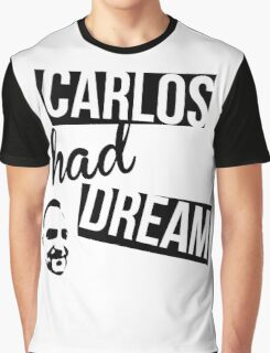 Carlos Had A Dream - Blue Graphic T-Shirt