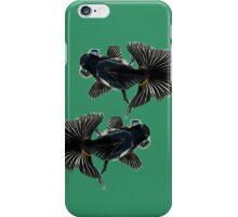 bug-eyed goldfish iPhone Case/Skin