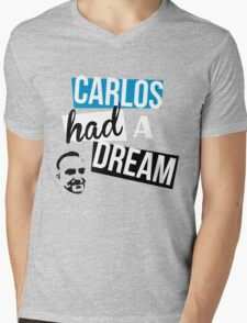 Carlos Had A Dream Mens V-Neck T-Shirt
