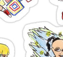 Earthbound-The Chosen Four Sticker