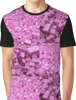 Pink legos Graphic T-Shirt