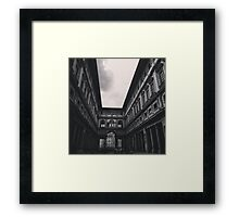 The Walkway Framed Print