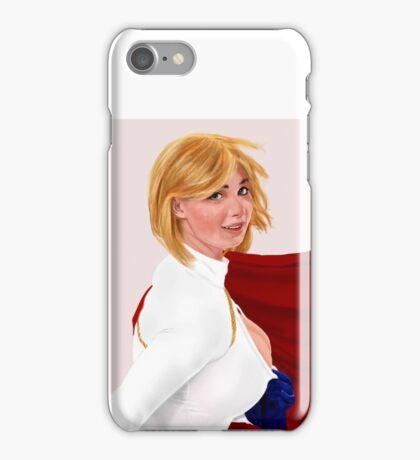 Power girl iPhone Case/Skin