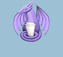Purple Dragon with Latte (blue eye) Unisex T-Shirt