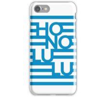 Honolulu Stripes iPhone Case/Skin