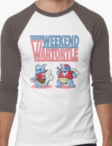 Weekend Wartortle (Pokemon) Men's Baseball ¾ T-Shirt