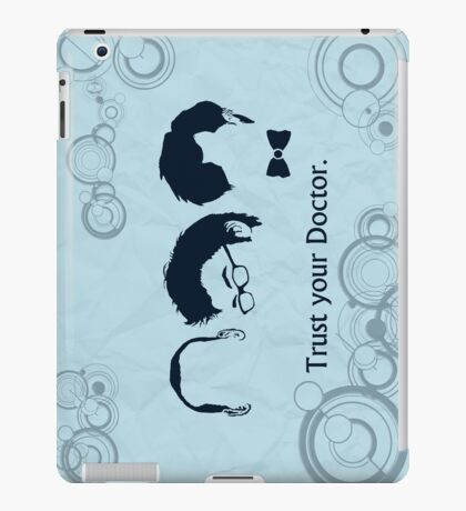 Trust Your Doctor. iPad Case/Skin