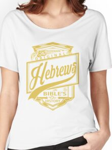 The Original Hebrews | The Bible's Our History Women's Relaxed Fit T-Shirt