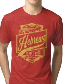 The Original Hebrews | The Bible's Our History Tri-blend T-Shirt