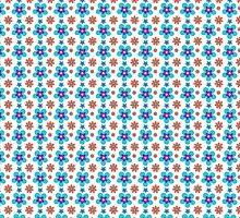 Sunny Flowers- Flower Pattern by Vox Music